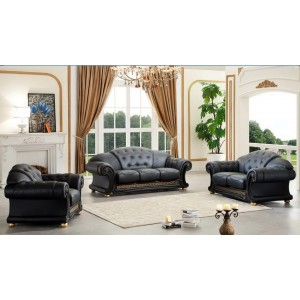 Apolo Leather/Split Living Room Set by ESF Furniture