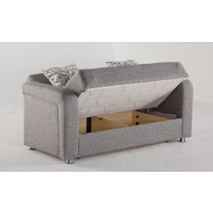 Vision Loveseat Diego Gray by Sunset (Istikbal) Furniture