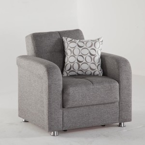 Vision Armchair Diego Gray by Sunset (Istikbal) Furniture