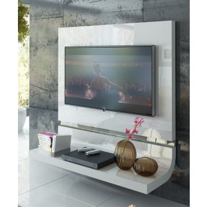 Granada Wood/Wood Veneer TV Panel by Fenicia Mobiliario, Spain