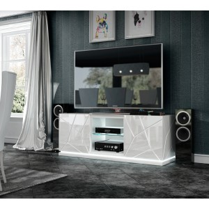 Kiu TV Base w/Light by Franco Furniture