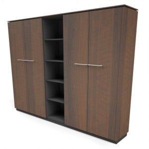 Status 5OH Tall Office Half Bookcase by MDD Office Furniture