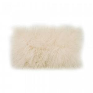 Lamb Rectangle Fur Pillow by MOE'S