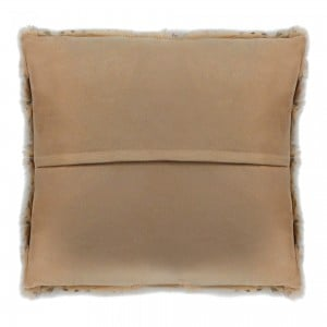 Spotted Goat Fur Pillow by MOE'S