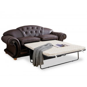 Apolo Leather/Split Sofa Bed by ESF Furniture
