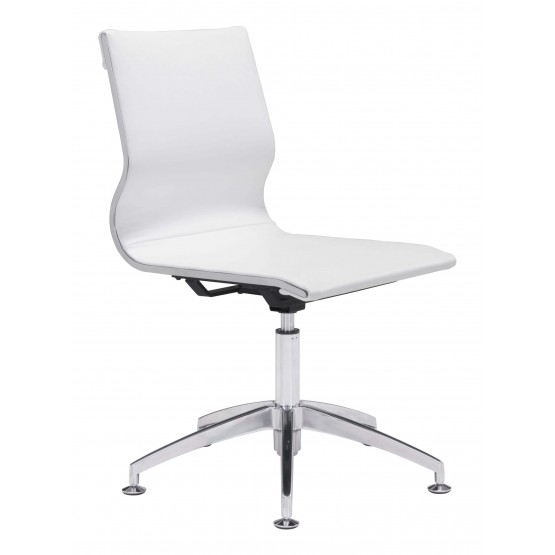 Glider Leatherette Conference Chair photo
