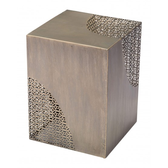 Ines Steel Accent Table photo