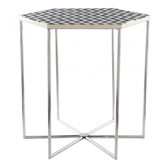 Forma Stone Side Table photo