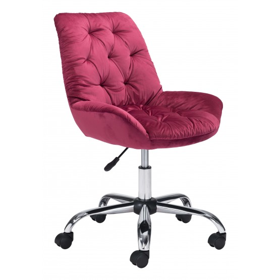 Loft Tufted Fabric Adjustable Height Office Chair photo