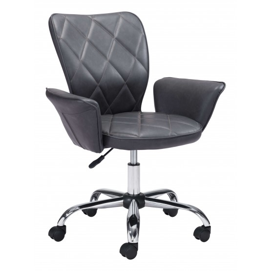 Specify Leatherette Adjustable Height Swivel Office Chair photo