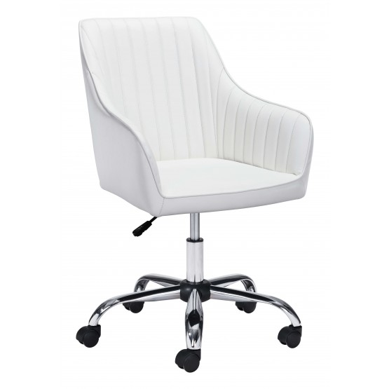 Curator Leatherette Adjustable Height Office Chair photo