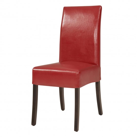 Valencia Bonded Leather/Wood Dining Chair photo
