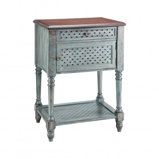 Hartford 1-Door 1-Drawer Table photo