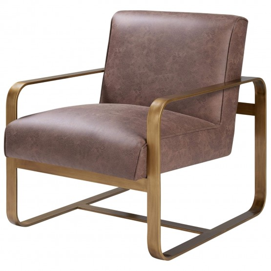 Nigel Fabric/Wood/Steel Accent Chair photo