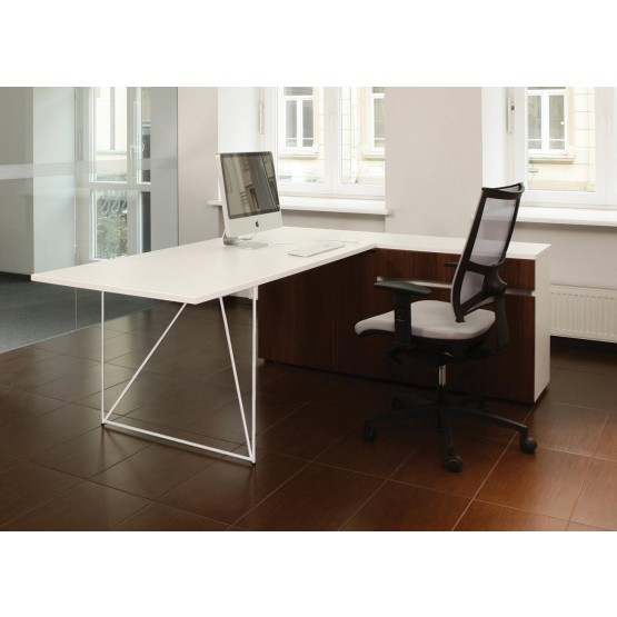 Air Office Desk w/Extended Top & Right Cabinet photo