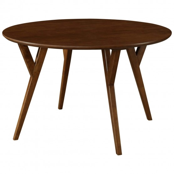 Benjamin KD MDF/Wood Round Dining Table photo