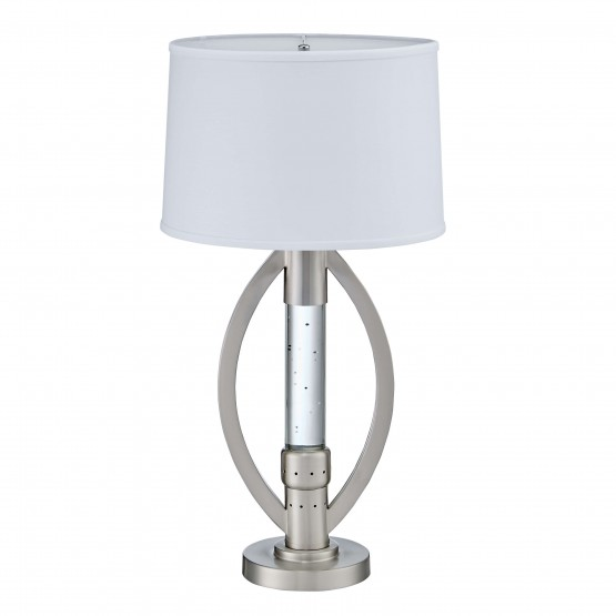 Lucian Metal/Fabric Table Lamp photo
