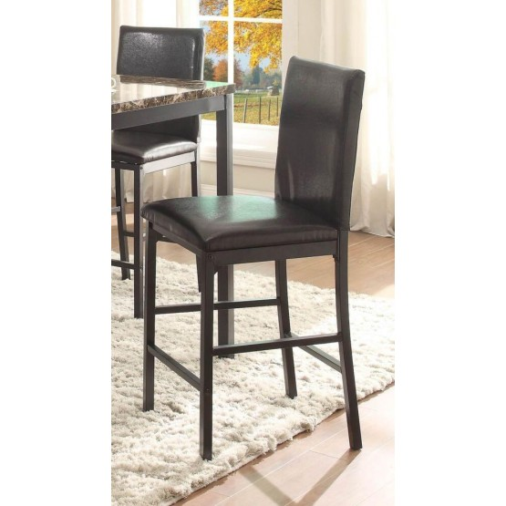 Tempe Transitional Vinyl/Iron Counter Dining Chair photo