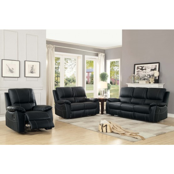 Greeley Leather Living Room Set photo