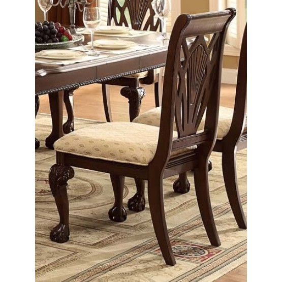 Norwich Leg Classic Fabric/Wood Dining Chair photo