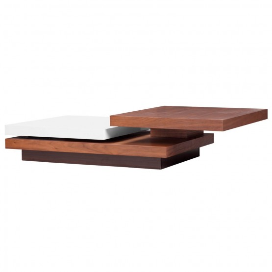 Action Three Tiered Motion Coffee Table photo