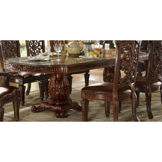 Vendome Wood/Wood Veneer Dining Table 120