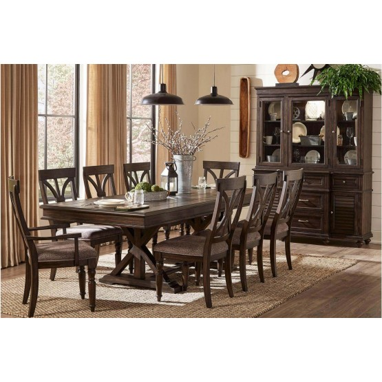 Cardano Rectangular Wood Dining Set photo
