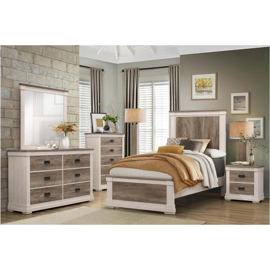 Arcadia Wood Youth Bedroom Set photo