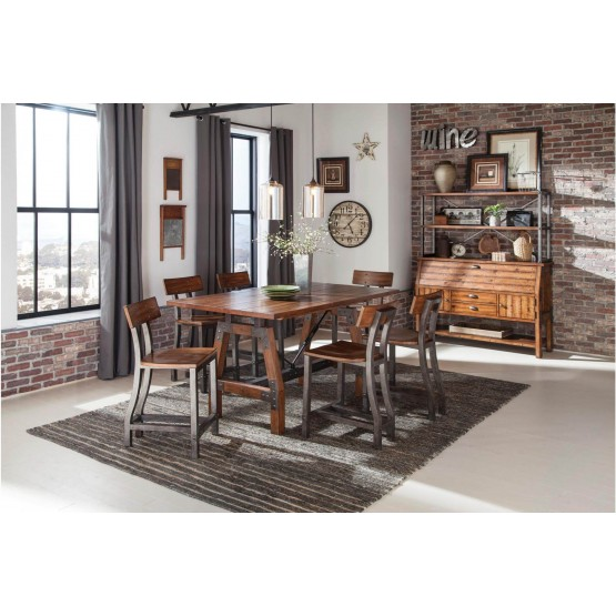 Holverson Industrial Counter Dining Room Set photo