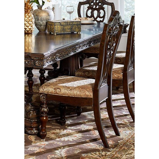 Catalonia Classic Fabric Dining Chair photo