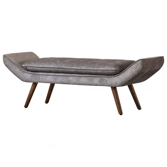 Newcastle KD Fabric Tufted Bench photo