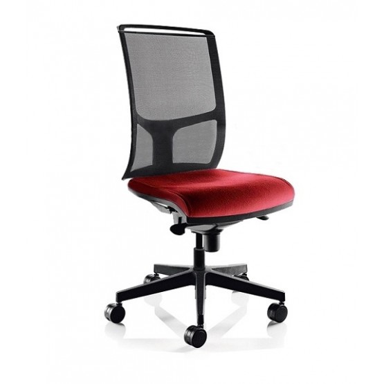 Diva Office Chair with Mesh Backrest & Synchro Mechanism (with Side Tension) photo
