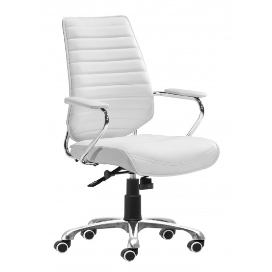 Enterprise Leatherette Adjustable Height Office Chair w/Low Back photo