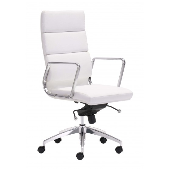Engineer Leatherette Adjustable Height Office Chair w/High Back photo