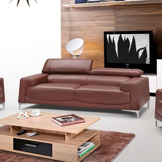 2537 Leather/Eco-Leather Sofa photo