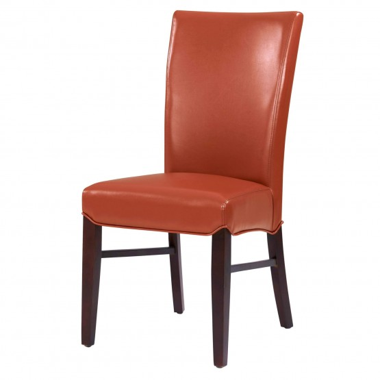 Milton Bonded Leather/Wood Dining Chair photo