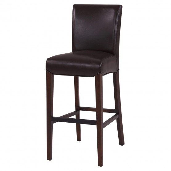 Milton Bonded Leather Bar Stool photo