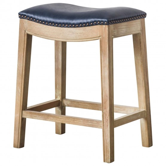 Elmo Bonded Leather Counter Stool photo