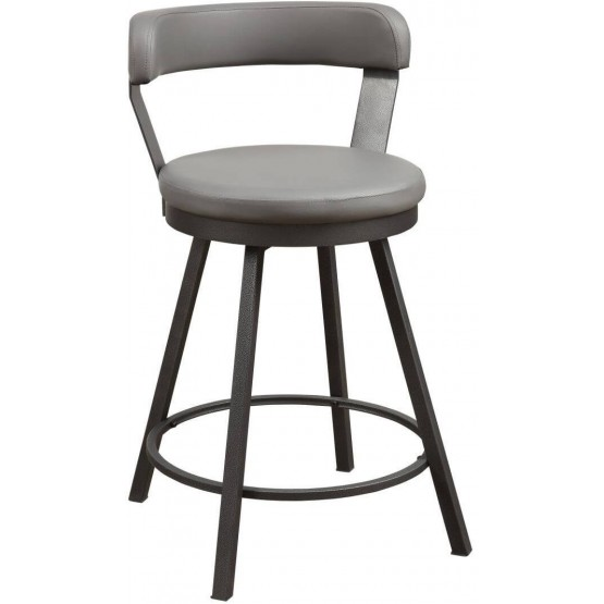 Appert Industrial Swivel Counter Height Chair photo