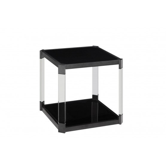Mehta Glass End Table photo