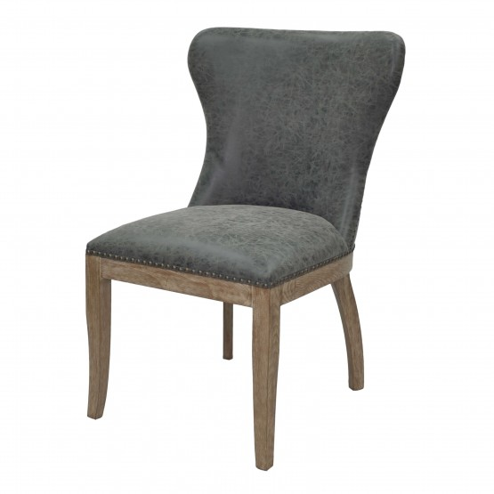 Dorsey PU/Wood Dining Chair photo