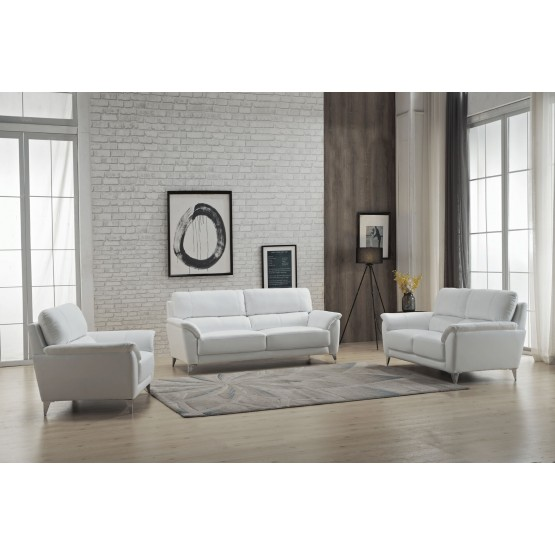406 Leather/Eco-Leather Living Room Set photo