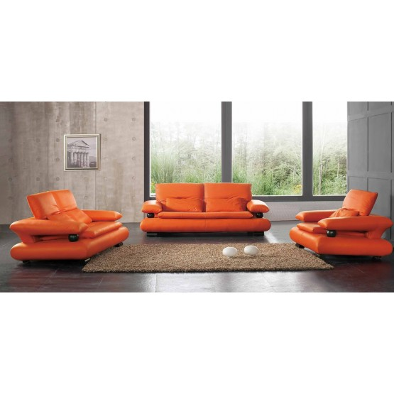 410 Leather/Eco-Leather Living Room Set photo