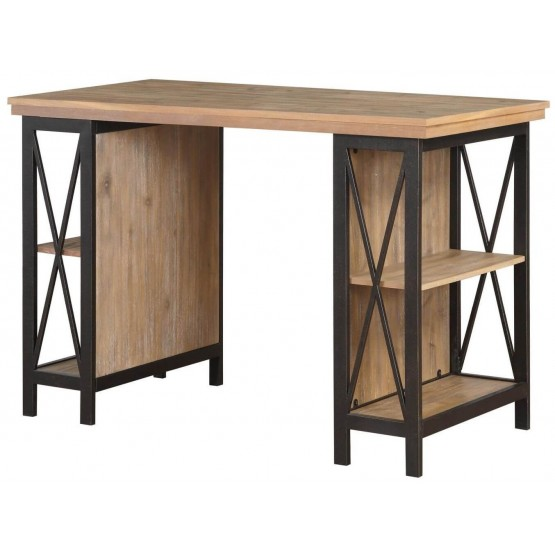 Penpoint Industrial Wood Writing Desk photo