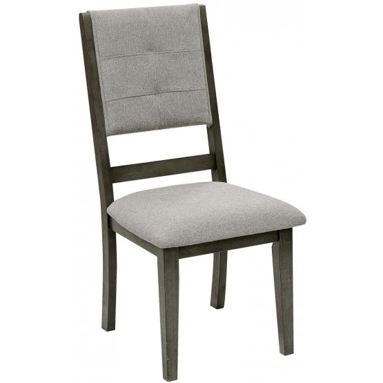 Nisky Transitional Fabric Dining Chair photo