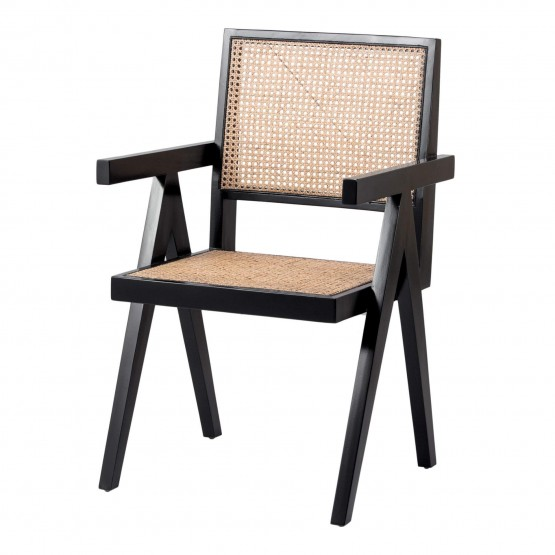 Bordeaux Rattan/Wood Dining Chair photo