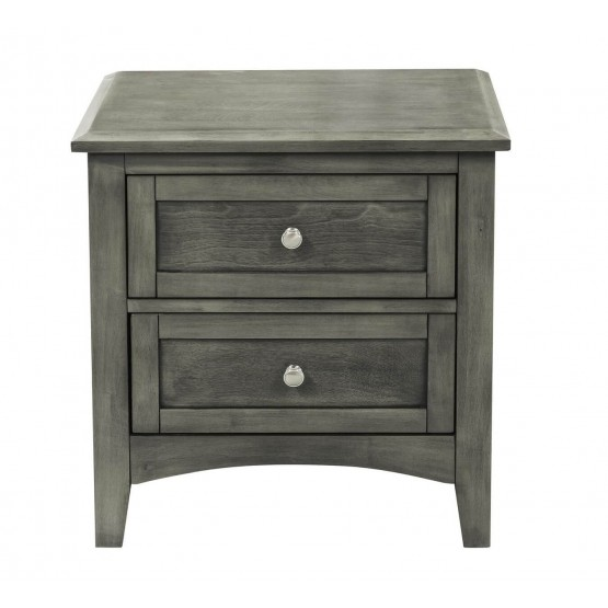 Garcia Wood Veneer Nightstand photo