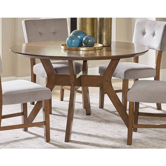 Edam Classic Round Wood Dining Table photo