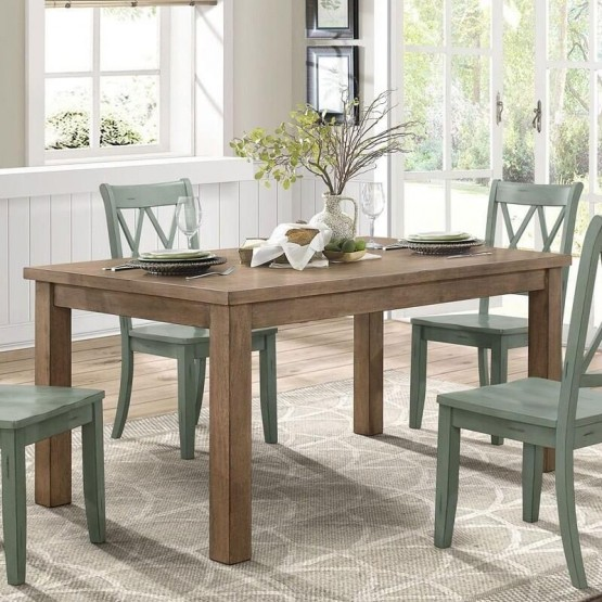 Janina Country Rectangular Dining Table photo