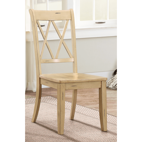 Janina Country Wood Dining Chair photo